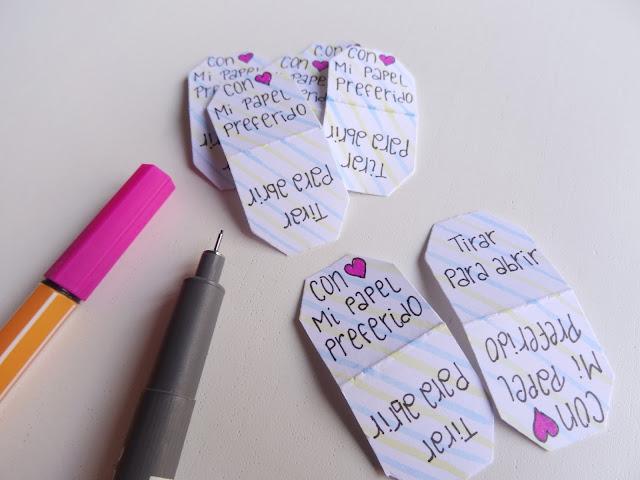 Lettering etiquetas