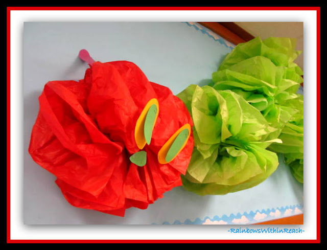 photo of: Eric Carle's Hungry Caterpillar Classroom Decoration at RainbowsWithinReach
