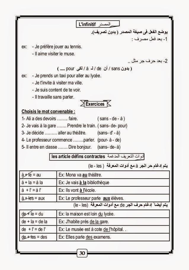 قواعد و أساسيات نطق الفرنسية لطلاب اللغات والحكومى مشروح عربى 10410108_10152862820