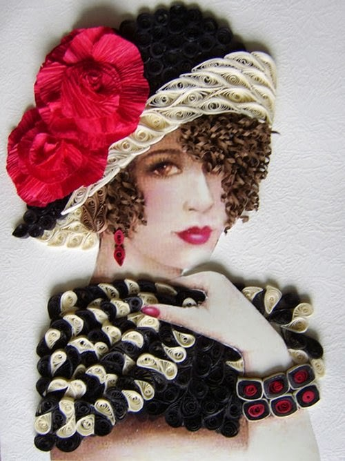 11-Eugenia-Evseeva-Quilling-Paper-&-Photo-Portraits-www-designstack-co