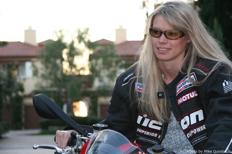Heidi Klum & Martin Kirsten: Brentwood Motorcycle Ride