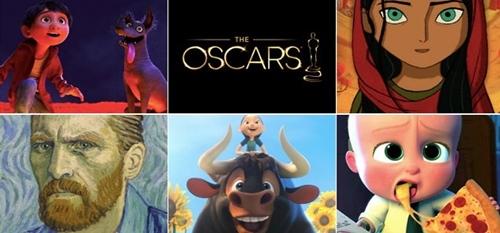 Conheça as animações indicadas ao Oscar 2018