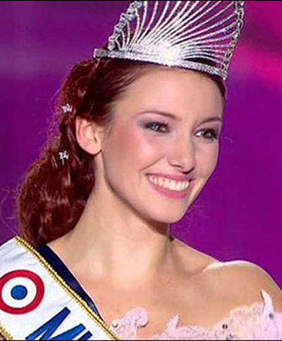 Delphine Wespiser Miss France 2012 Hairstyles 3