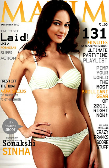 Sonakshi Sinha bikini photos