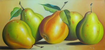 Cuadros de Bodegones de Frutas Grandes