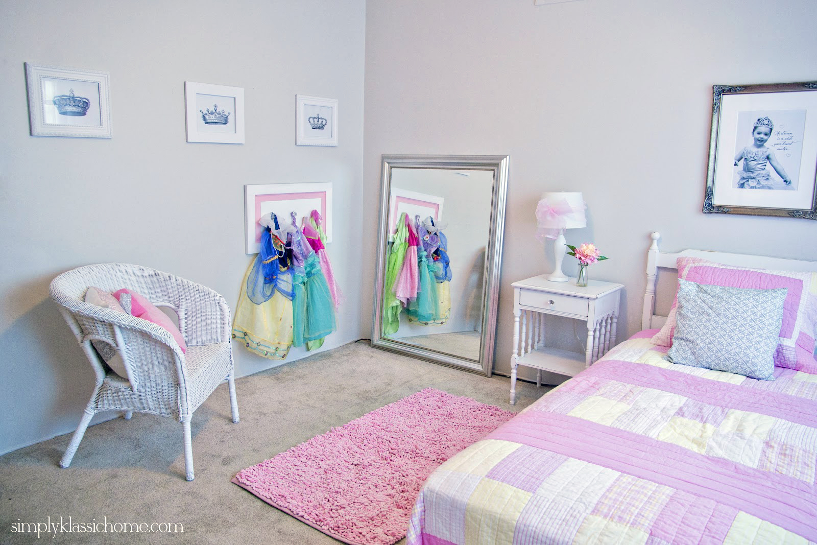 Princess Bedroom Little Girls Princess Room Makeover Reveal Yellow Bliss Road