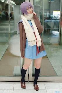 Rinami Cosplay as Nagato Yuki from Suzumiya Haruhi