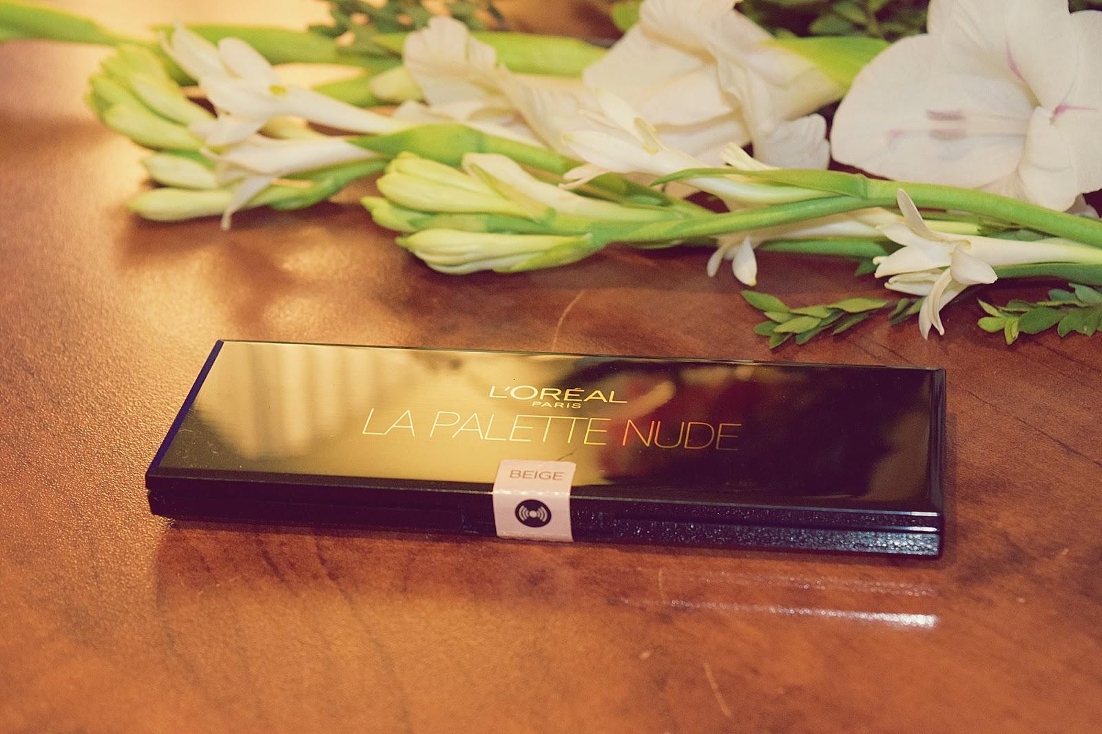 L'Oreal Paris La Palette Nude Beige 02