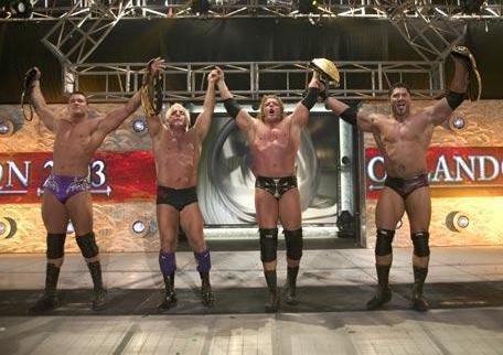 2003 WWE Triple H Flair Orton Title Victory Batista Tag Team Intercontinental