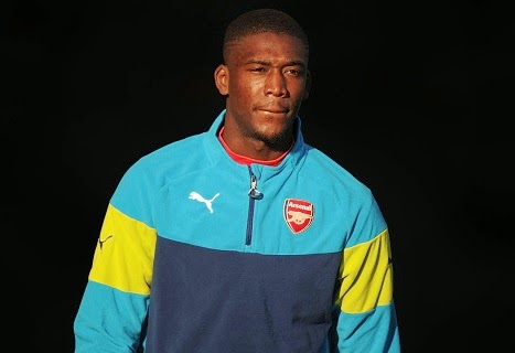 Arsenal striker Yaya Sanogo set for a loan move