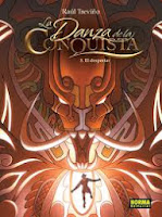 La danza de la conquista 3 El despertar,Raúl Treviño,Norma Editorial  tienda de comics en México distrito federal, venta de comics en México df