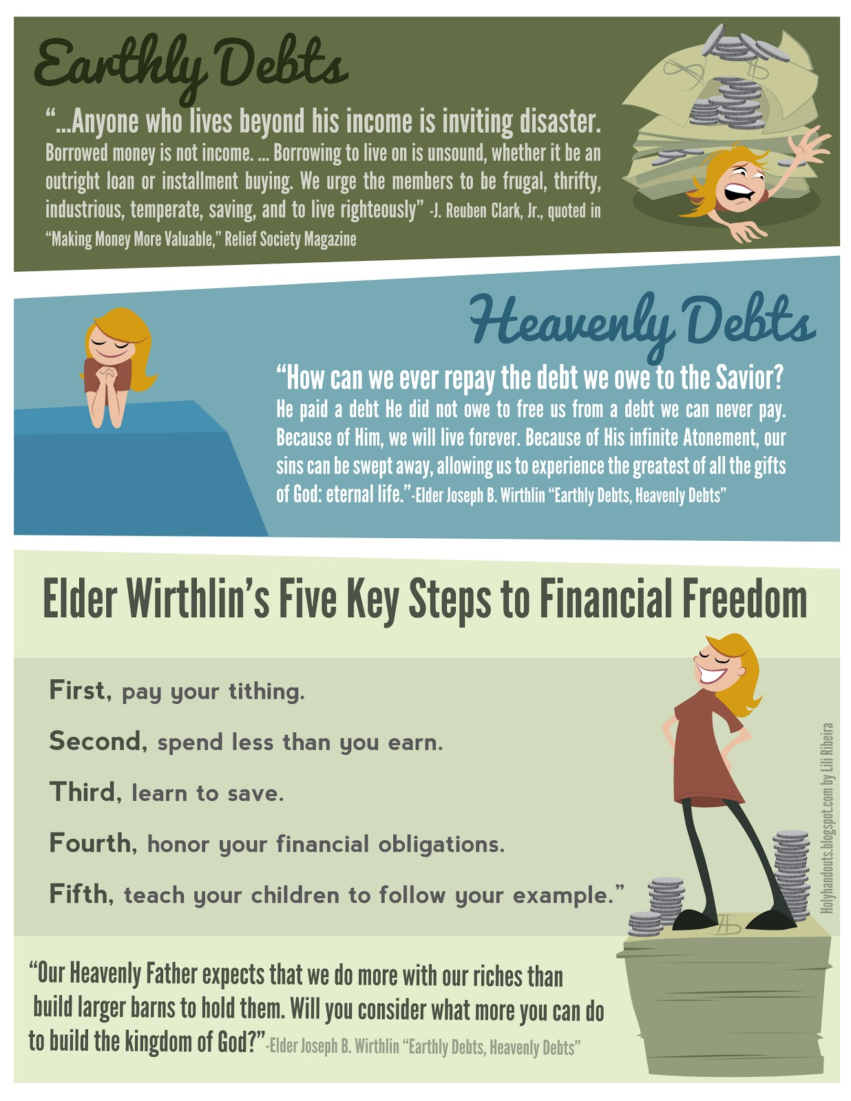 Holy Handouts: Young Women Lesson 46: Money Management