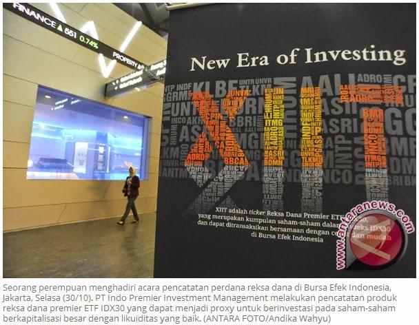 OJK: Kepercayaan investor terhadap reksa dana meningkat