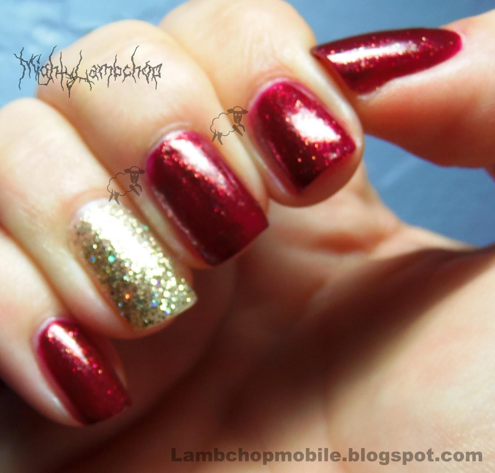 Toe Nail Bling Designs
