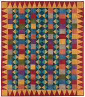 Free pattern!  Santa Fe Quilt