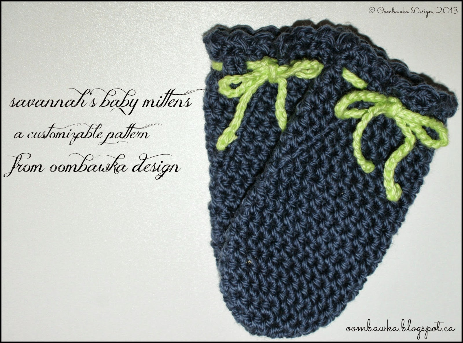 Crochet Baby Gloves Pattern : Oombawka Design *Crochet*