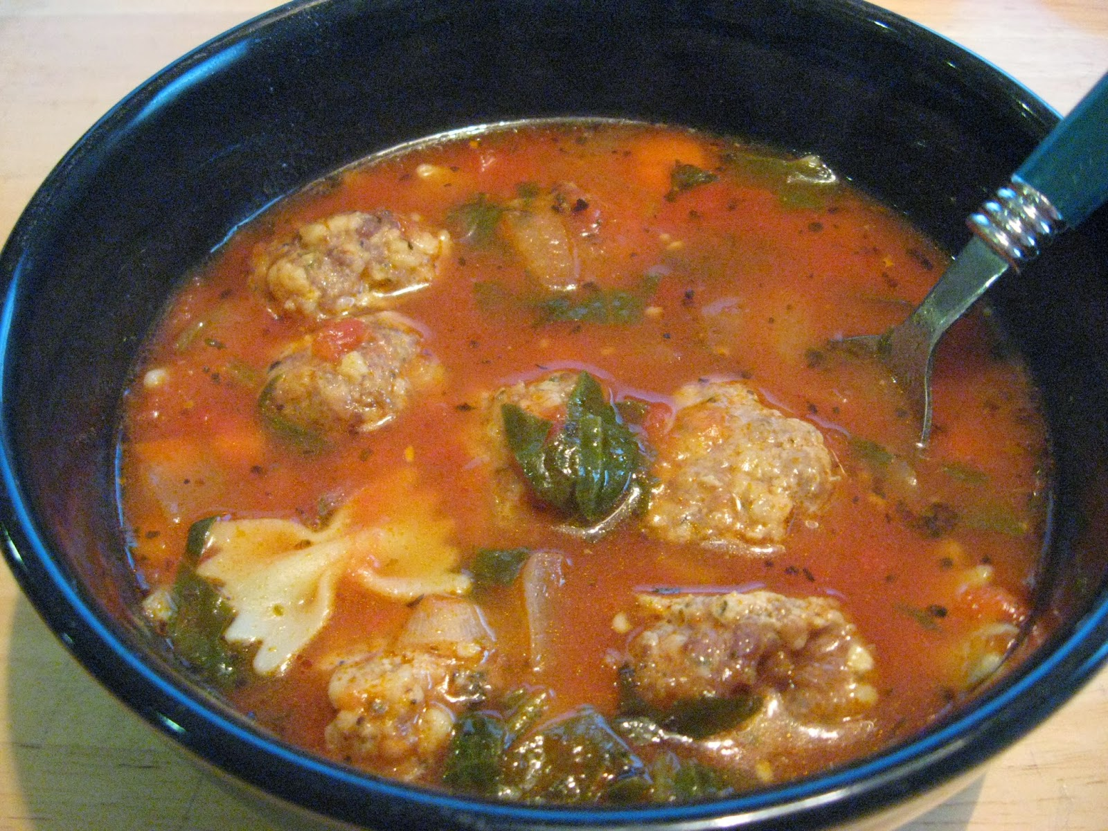 soup for italian meatball soup italian meatball soup ej s simple ...