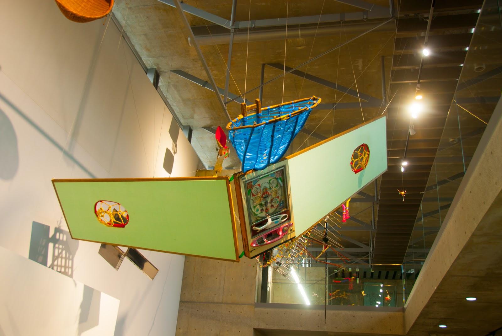 越後妻有里山現代美術館 キナーレ 展示 玉入れ