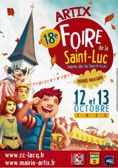 La Foire de la Saint Luc 2013 d'Artix