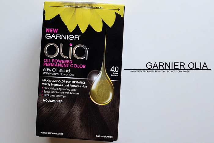 Garnier Olia Hair Color Dark Brown 4.0 - Review