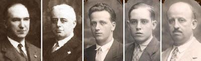 El equipo de España en la III Olimpiada de Ajedrez de 1930