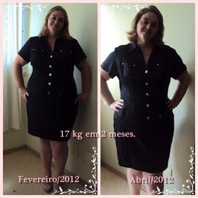 17 kg off em dois meses