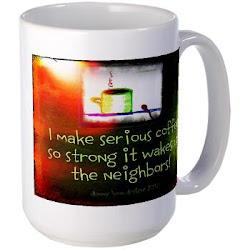 Funny Serious Coffee Mug