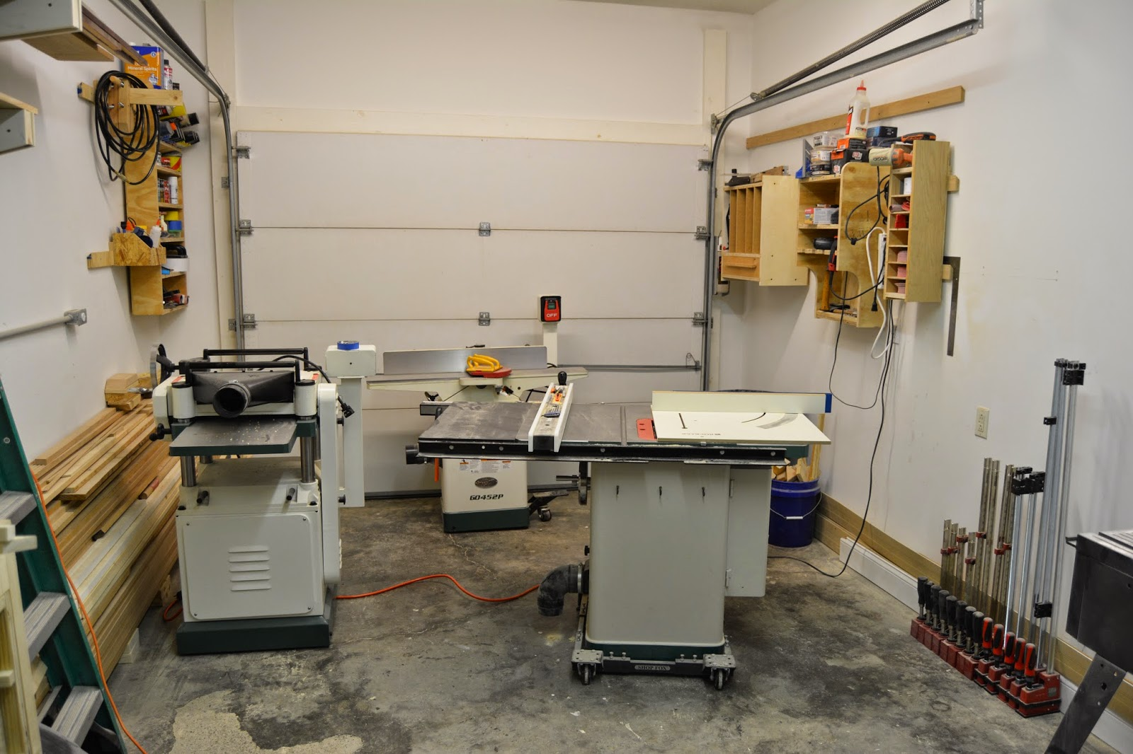 Lane Bros WoodShop: New Shop Layout