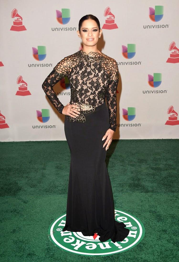 Rocsi Diaz at 2014 Latin Grammy Awards Red Carpet Arrivals