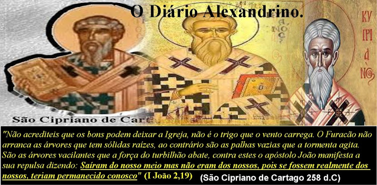 O Dirio Alexandrino. (Todos os podres protestantes).