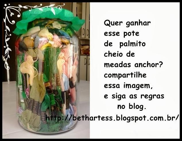 SORTEIO NO BLOG DA BETH ARTES-