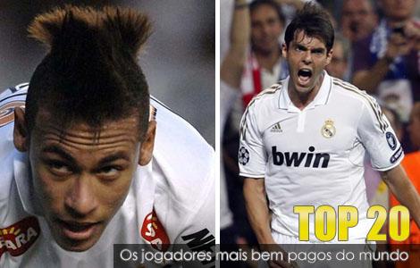 France Football divulga lista dos 20 jogadores mais bem pagos do mundo. Só dois são brasileiros.