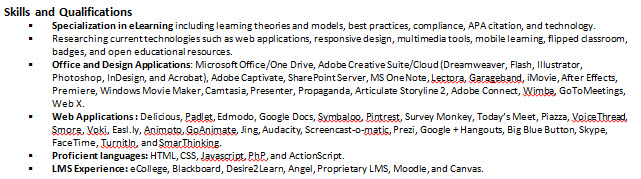 Instructional Designer Resume 3 Instructional Designer Resume
