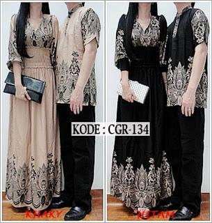 Foto Baju Batik Couple Bahan Katun