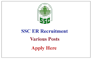 Staff Selection Commission Eastern Region