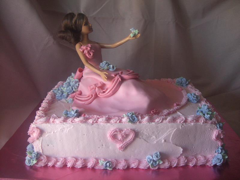 Cake Images Of Barbie : Coolest Cake Ideas: Barbie cakes
