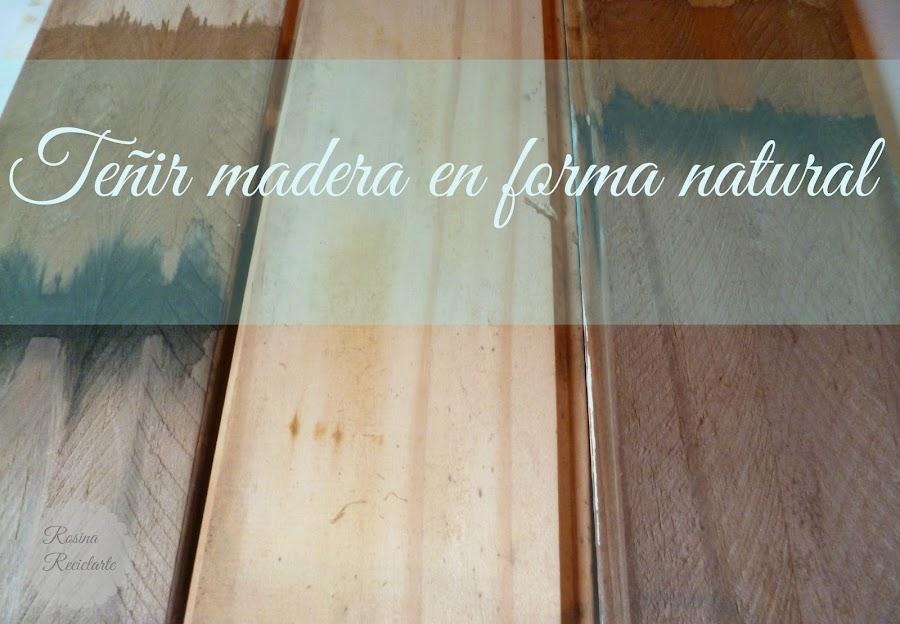 Tinte - Tinte para madera casero ...