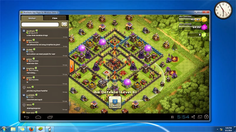 tips bermain game clash of clans