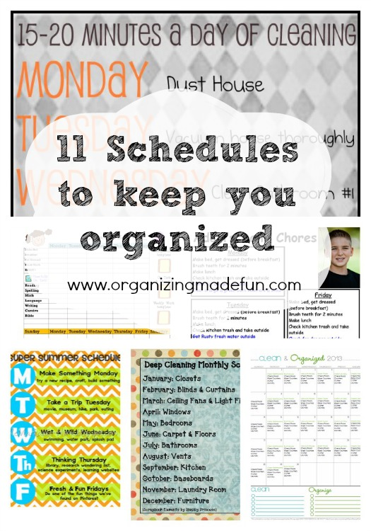 how to keep the house clean and organized