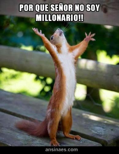 Por Que Señor No Soy Millonario!!!