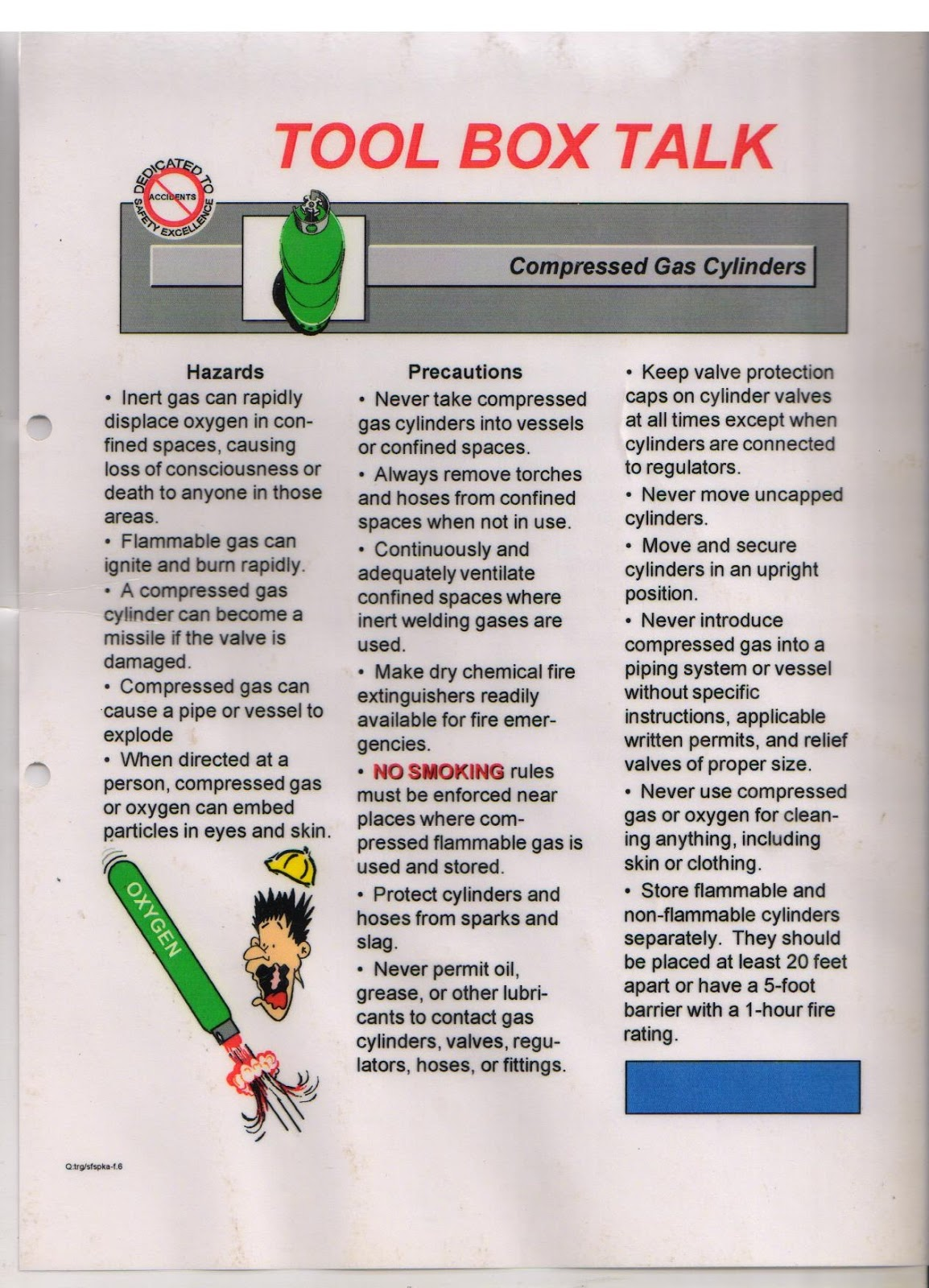 toolbox talk Osha toolbox talk a-e after the fire is out beware of lurking hazards  controlling hazards associated with compressed air blowers controlling  hazards.