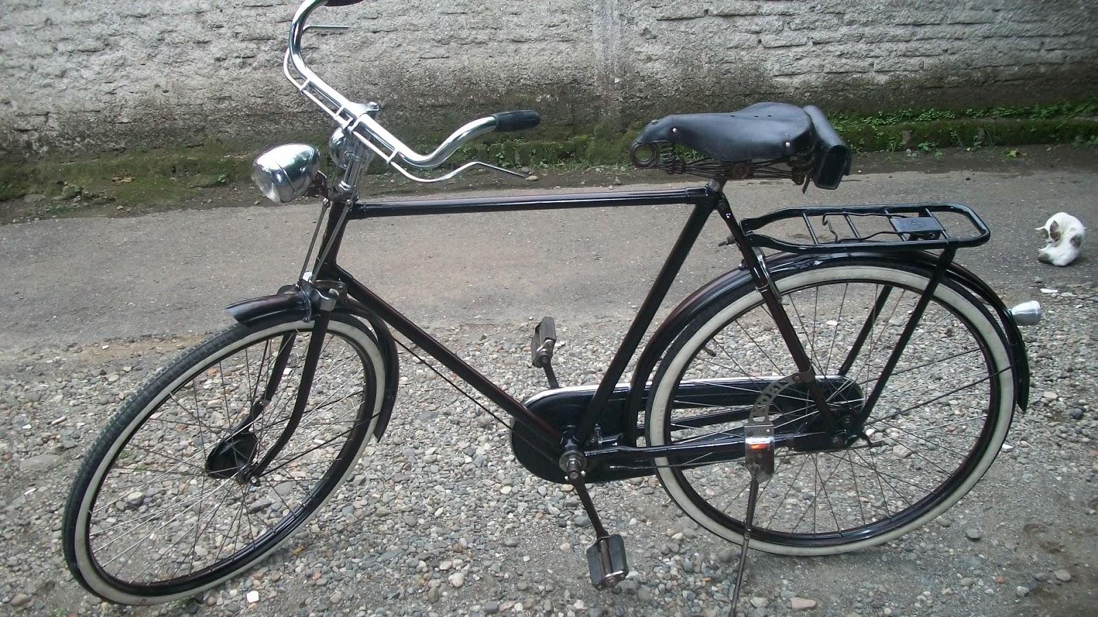 Koleksi Sepeda Onthel Kuno c ANTIK: SIMPLEX HEREN seri 1