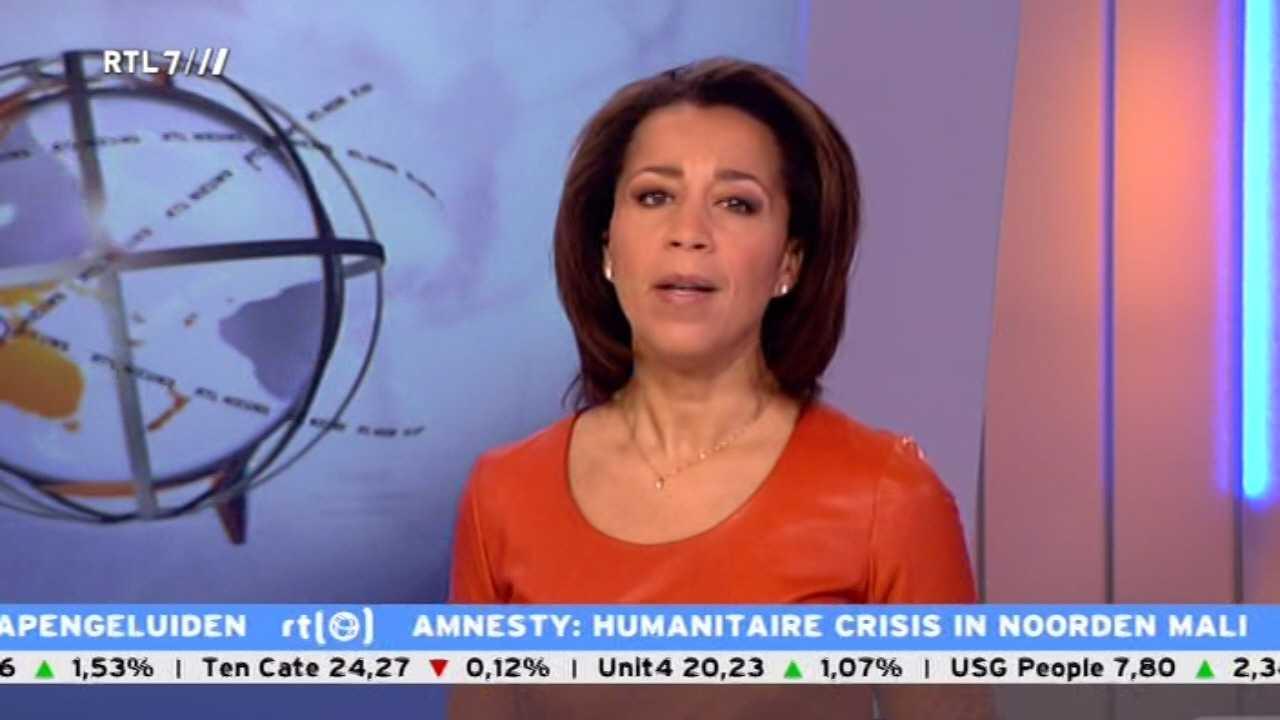 Diana Matroos presentatrice RTL Z nieuws