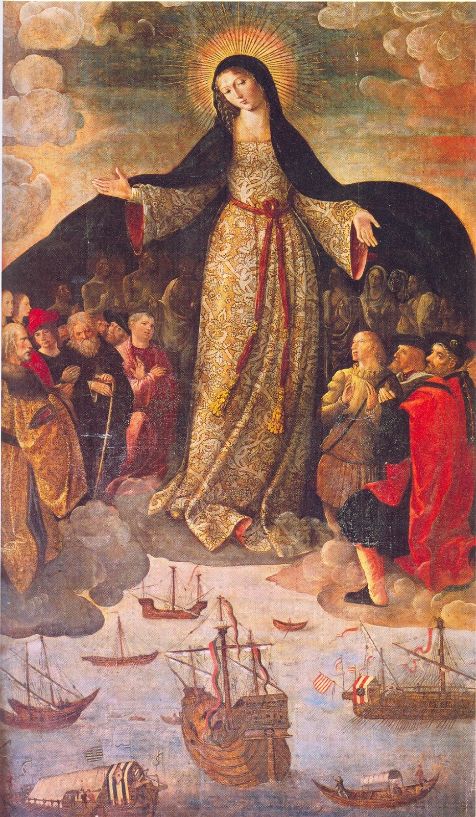 Resultado de imagem para maria santissima manto