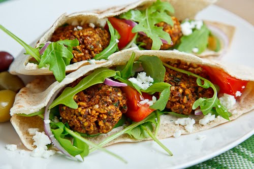 Falafel Pita Sandwich