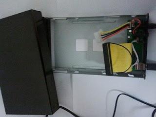 Caja para introducir disco - Vacía, pero con la carcasa