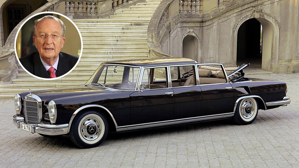 Royal families and their one off cars listing top ten for Mercedes benz belgium