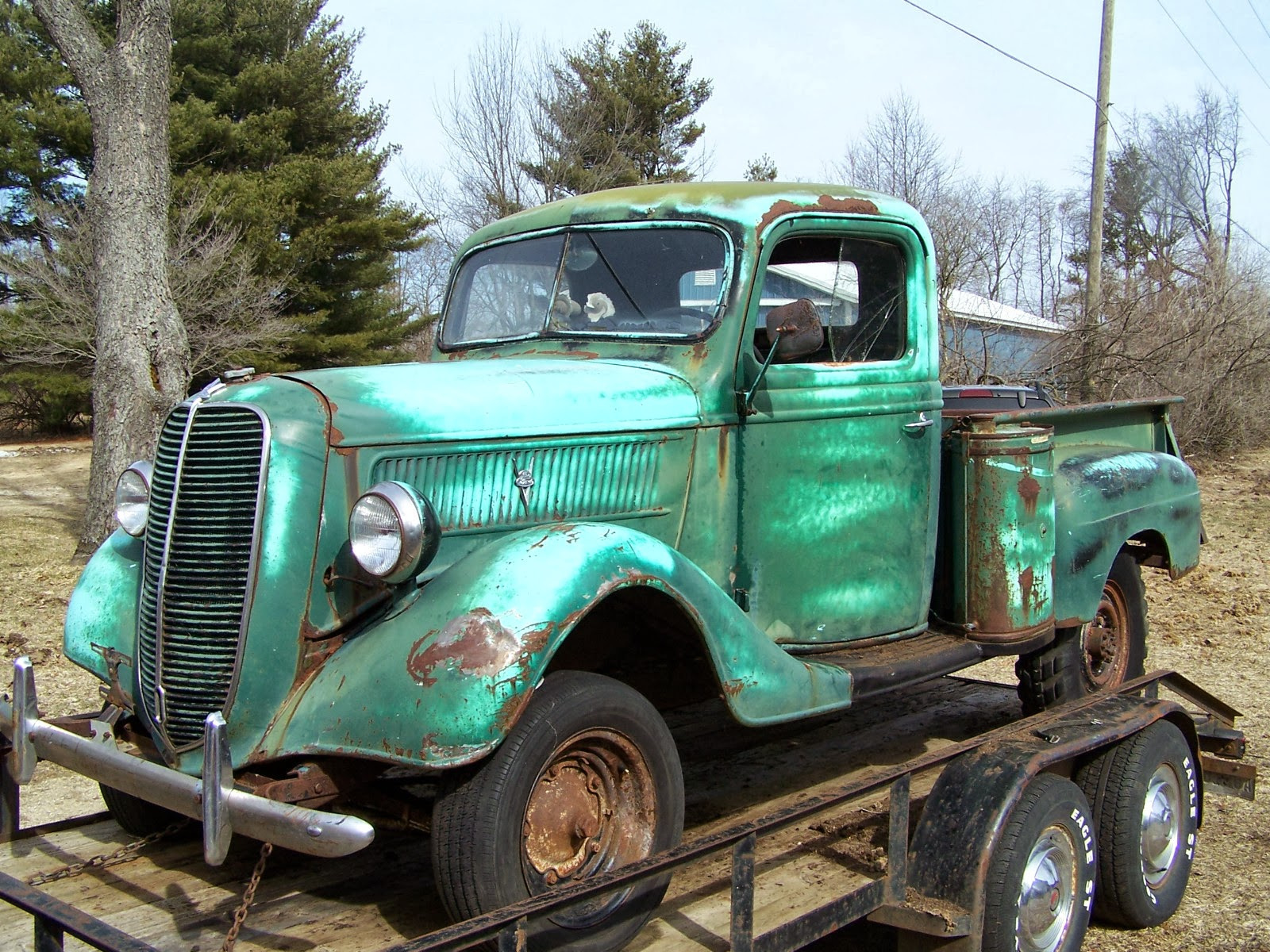 Fpu on Ford Flathead V8 Crate Engine For Sale