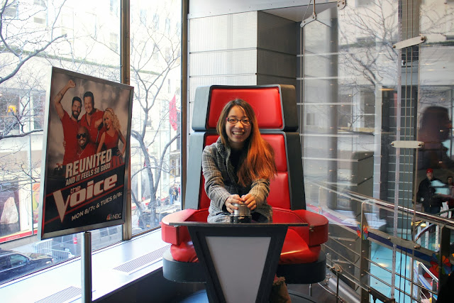 The voice NBC Studios