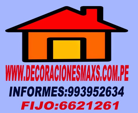 decoraciones maxs